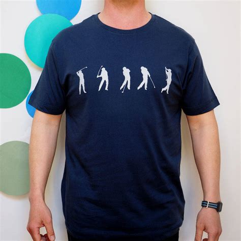 the golf swing shirt golf swing sequence t shirt by stabo notonthehighstreet com