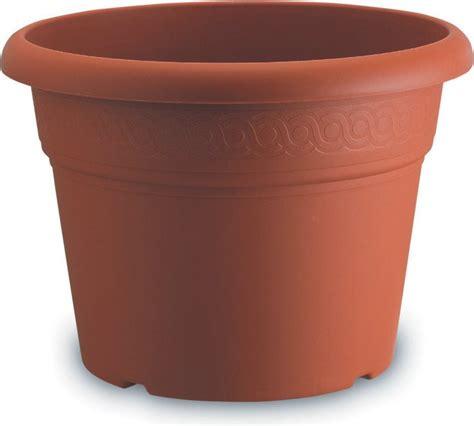 vaso di plastica nbrand vaso plastica giardino piante fioriera tondo