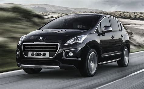 peugeot suv 2014 peugeot 3008 facelifted for 2014 photos 1 of 11