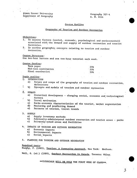 Psyc 122 Course Outline by Psyc 122 Course Outline Cover Letter Wording Exles