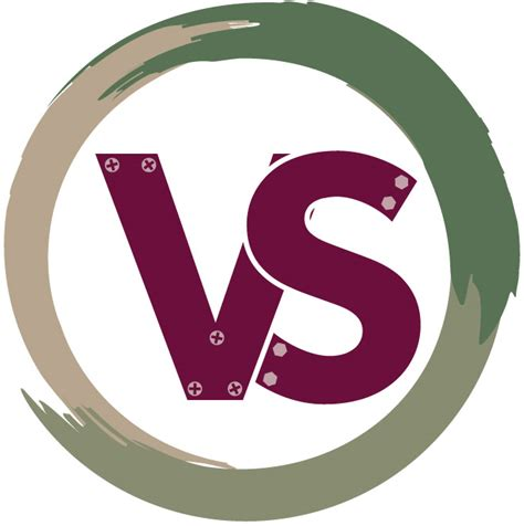 layout with logo vs handy person logo design austin schlack graphic