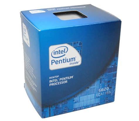 Intel Pentium Dual Processor G620 26 Ghz 3mb Lga 1155 Tray Fan intel pentium processor g620 3m cache 2 60 ghz price in