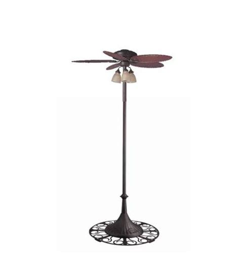 outdoor standing fans patio outdoor 54 free standing oasis patio ceiling fan