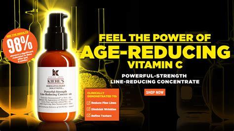 Serum Vitamin C Kiehl S powerful strength line reducing vitamin c serum