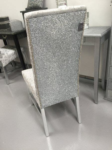 silver vanity chairs the stunning glitter furniture company dining room chairs