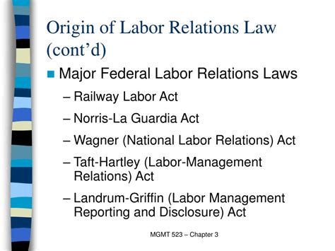 section 8 of the national labor relations act ppt chapter 3 powerpoint presentation id 367757