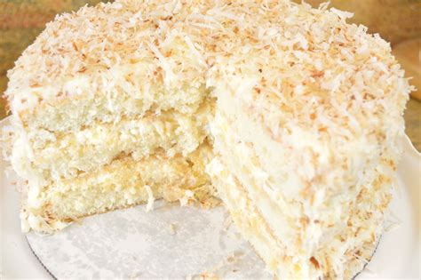 Light And Fluffy Southern Coconut Pineapple Cake Light Fluffy Cake Recipe