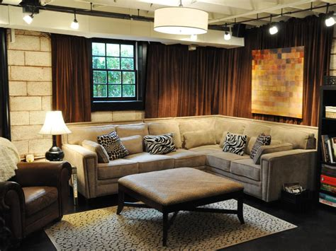 basement decor photos hgtv