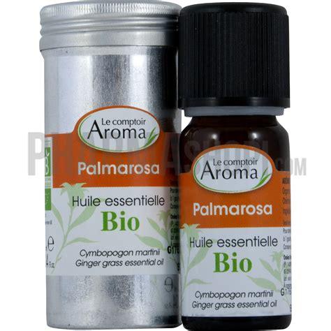 comptoir des flacons huile essentielle de palmarosa le comptoir aroma flacon