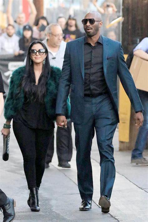 Kobe Bryant Andnessa Laine Bryant Arrive At Jim