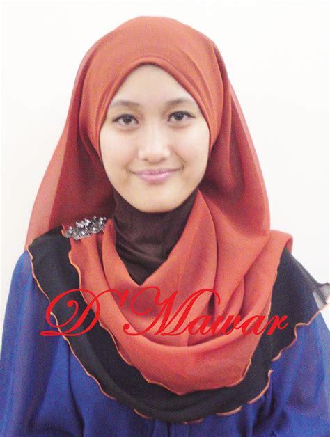 koleksi tudung nur kasih terbaru tudung half moon online tudung half moon terkini shawl