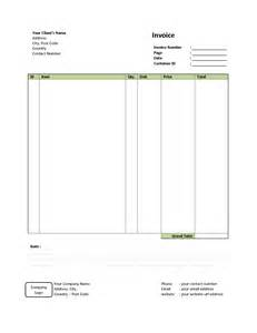 simple excel invoice template simple invoice template free to do list