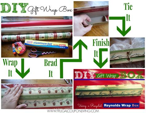 step by step gift wrapping diy gift wrap box tutorial present made from box