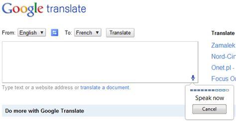 google images translate google translate nun auch im browser mit spracheingabe gwb