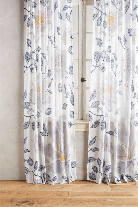 blue and yellow curtains prints window treatments products bookmarks design