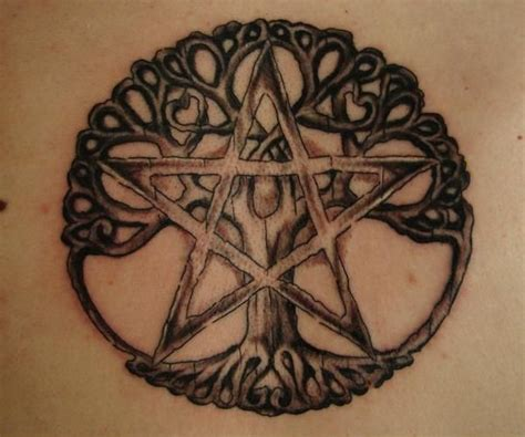 pentagram tattoo celtic design tattoos and such