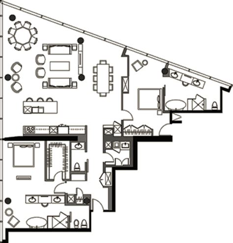 veer towers floor plans veer towers floor plan two bedroom penthouse vph 7 veer