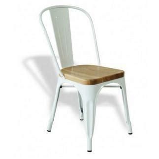 marais metal tolix chair  wooden seat antique steel tolix chairhigh   vg