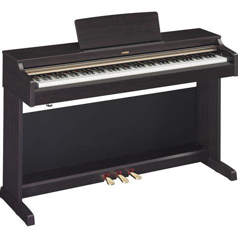 yamaha arius ydp 142 88 key digital piano with bench yamaha ydp 162 arius 88 key digital piano dark rosewood