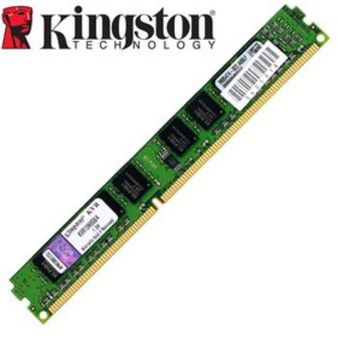 Ram Pc Kingstone kingston 4gb valueram ddr3 1333mhz pc3 10600 memory stick kvr13n9s8 4 from overclock co uk