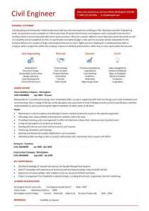civil engineering resume template civil engineer resume template