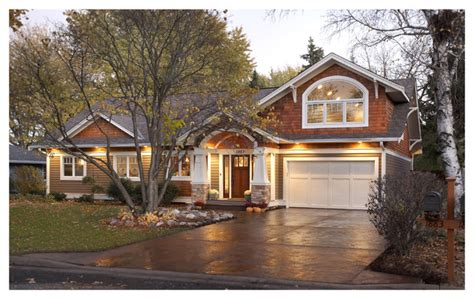 1960 ranch remodel craftsman exterior minneapolis