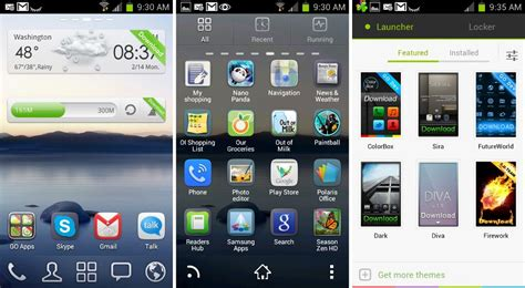 best app android best homescreen launcher apps for android