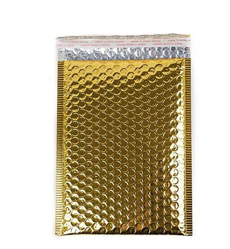 gold patterned kraft paper custom size gold patterned bubble envelopes mailer bag