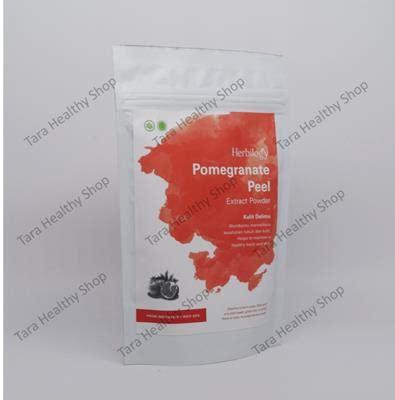 dijamin herbilogy pomegranate peel kulit delima extract powder herbilogy pomegranate peel extract powder 100