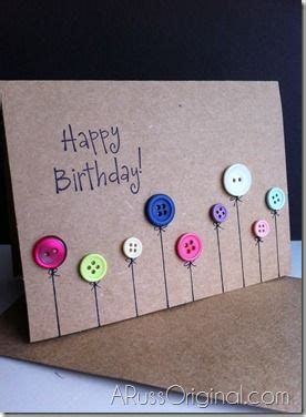 button cards make your own 25 best ideas about diy birthday cards on