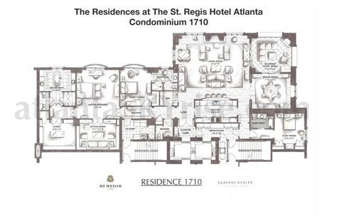 st regis floor plan st regis residences buckhead now selling final 7 luxury