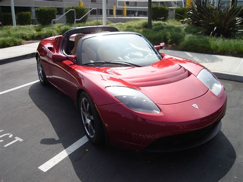 The Tesla Roadster File Teslaroadster Front Jpg