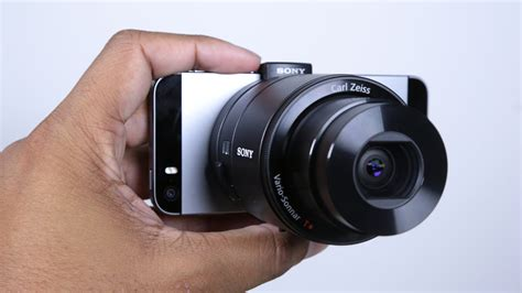 Lensa External Hp sony qx100 ios android lens unboxing