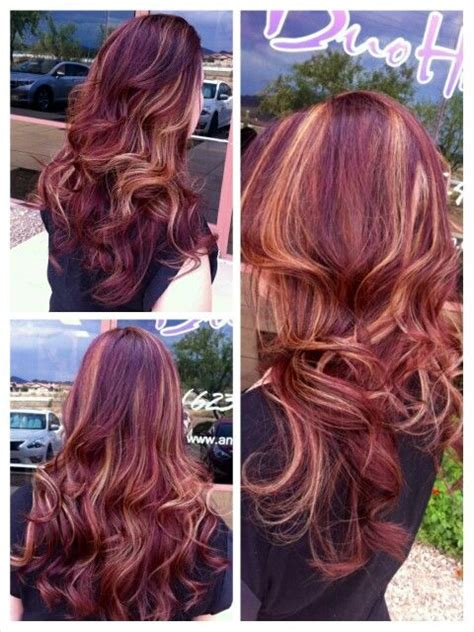 mixing brown wirh blonde haircolor results how to mix red and blonde highlights into the perfect look