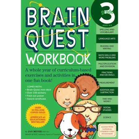 Brain Quest Workbook Grade 5 brain quest workbook grade 3 walmart