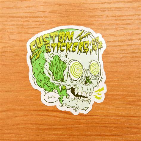 Sticker Cutting Custom vinyl sticker kamos sticker