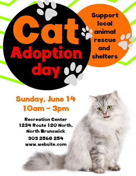 Pet Adoption Flyer Template Free