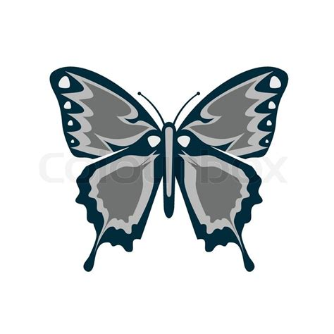 Butterfly Song Bedsheet Small Single butterfly icon vector illustration stock vector colourbox