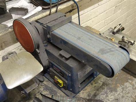 belt disc sander bench top sealey benchtop belt disc sander 40 000 healthy belt