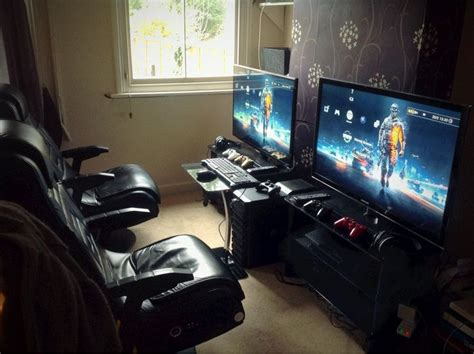 Best Living Room Tv Setup 25 Best Gaming Setup Ideas On Pc Gaming Setup