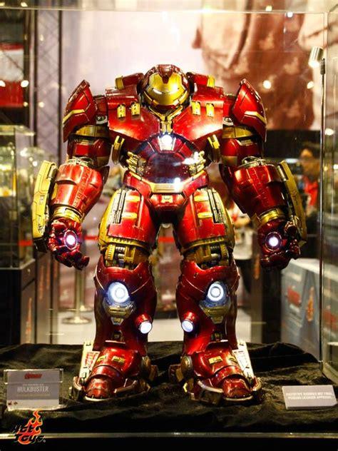 Original Kotobukiya Vs Hulkbuster Set toys size hulkbuster armor from age of ultron geektyrant
