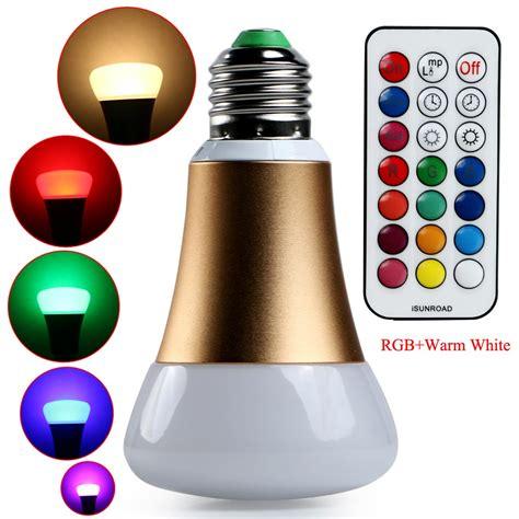 Gold Color Change Rgb 10w E27 Led Magic Light Bulb L