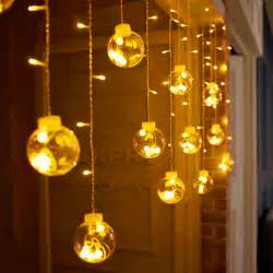 string of lights indoor 3m 120 led lights indoor curtain string light wedding decoration window garland