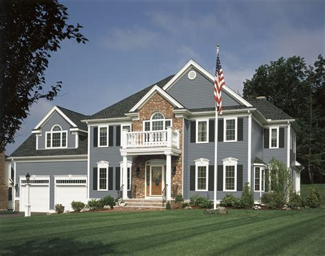 blue house siding virginia roofing siding company siding