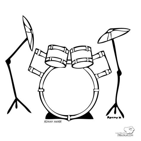 imagenes de instrumentos musicales faciles de dibujar instrumentos musicales para colorear y pintar colorear