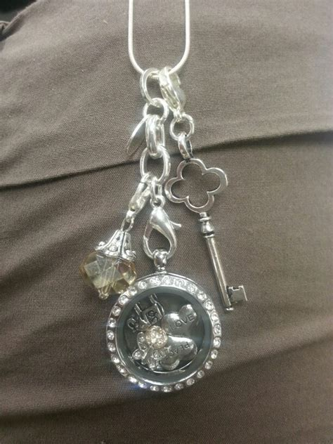 Origami Owl Charm Necklace - my origami owl necklace o2
