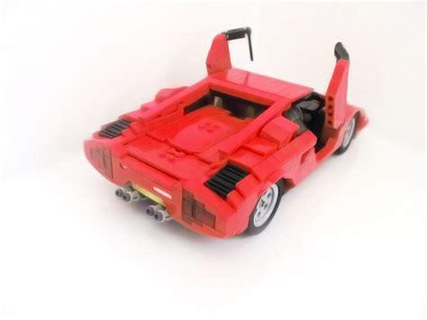 Lego Lamborghini Countach by Lego Ideas Lamborghini Countach Lp400