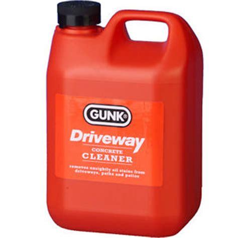 Garage Floor Stain Remover gunk driveway cleaner stain remover garage floor paths