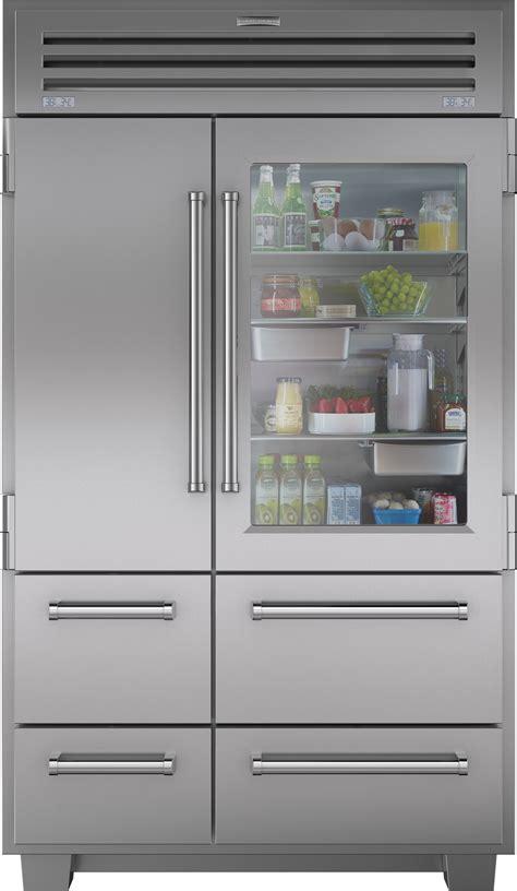 Sub Zero Side By Side 5697 by 48 Inch Built In Side By Side Refrigerator Aj