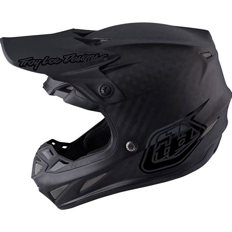tld motocross helmets troy designs 2019 mx se4 carbon midnight black tld
